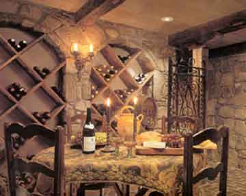 When decorating tuscan style it helps to remember that for Wine themed dining room ideas