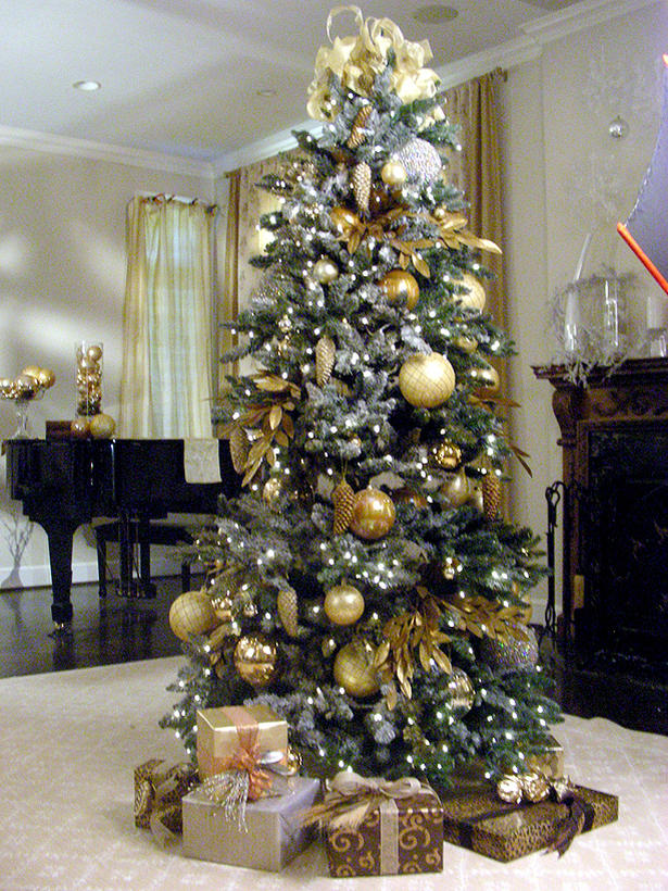 Christmas Tree Color Spray : Tips for decorating your christmas tree crystal gifts